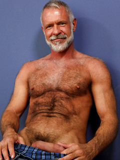 Silver daddy gay fuck